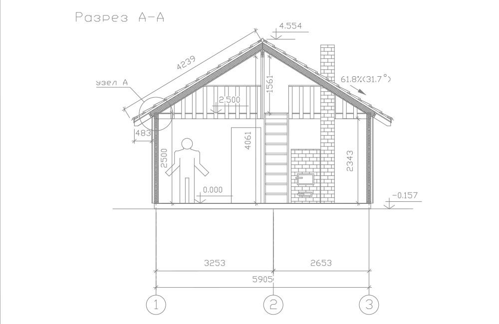 Дачный дом «Ортодокс»