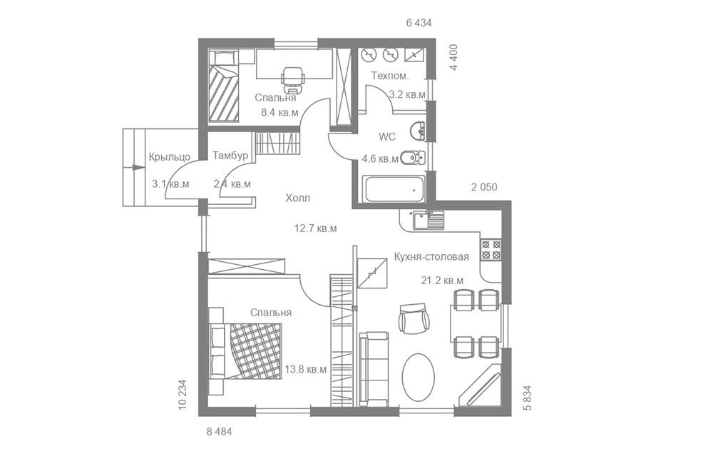 Жилой дом «Раута 50»